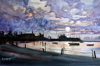 Painting - Punta Gorda Sunset by Ryan Radke