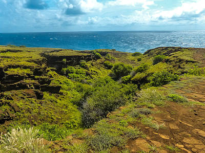 Photograph - Punta Pitt Coast by Harry Strharsky