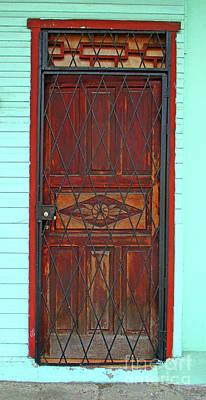 Photograph - Puntarenas Door 1 by Randall Weidner