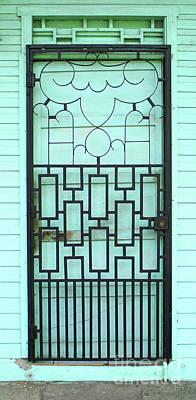 Photograph - Puntarenas Door 2 by Randall Weidner