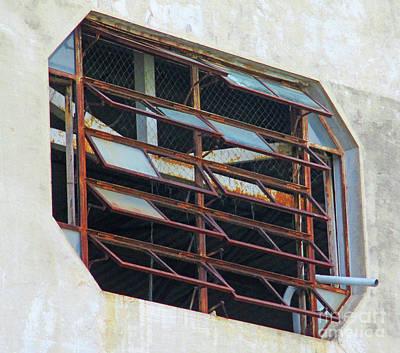Photograph - Puntarenas Window 1 by Randall Weidner