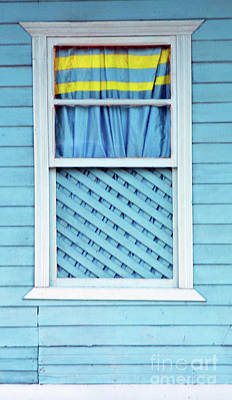 Photograph - Puntarenas Window 2 by Randall Weidner