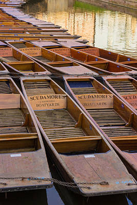 Photograph - Punting by David Warrington