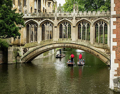 Photograph - Punting On The Cam by Jean Noren
