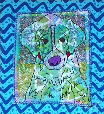 Mixed Media - Pup by Susan Sorrell
