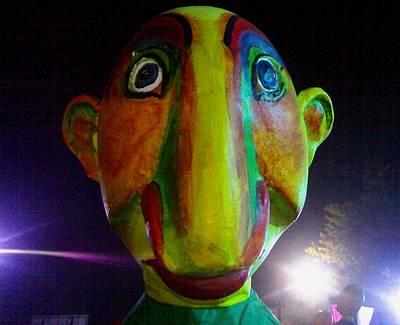 Photograph - Puppet Bashira  by Fareeha Khawaja