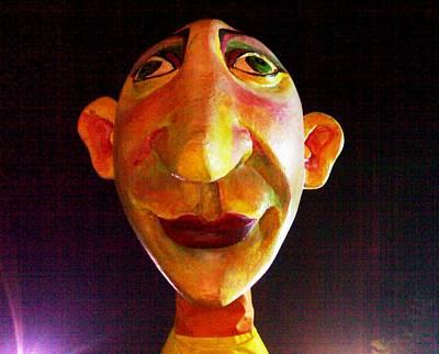 Photograph - Puppet Hameeda  by Fareeha Khawaja