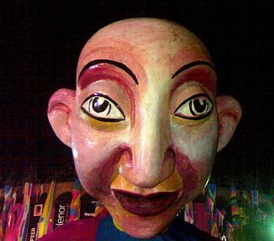 Puppet Kushi Mohamad Art Print