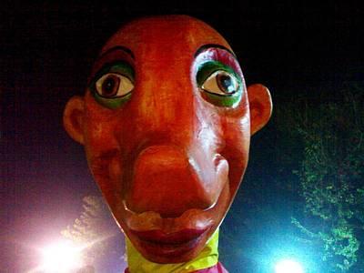 Photograph - Puppet Shaukat by Fareeha Khawaja