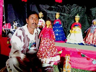 Photograph - Puppeteer Muhammad Bashir by Fareeha Khawaja