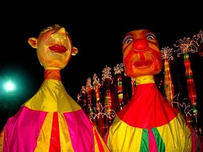 Pyrography - Puppets by Fareeha Khawaja