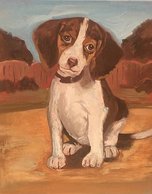 Painting - Puppy 1 by Alejandro Lopez-Tasso