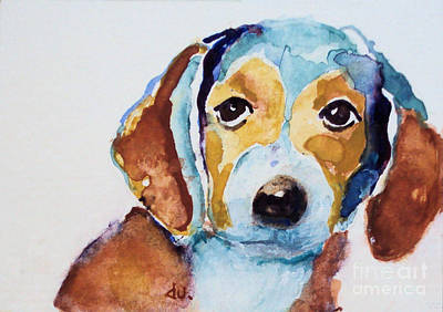 Painting - Puppy by Diane Ursin