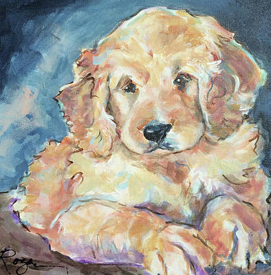 Painting - Puppy Love by Judy Rogan