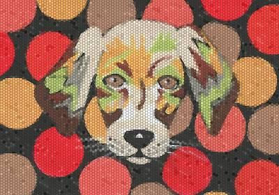 Puppies Mixed Media - Puppy Love by Kathleen Sartoris