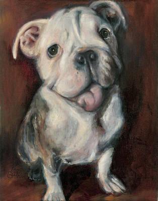 French Bulldog Gifts Painting - Puppy Love by Kim Guthrie