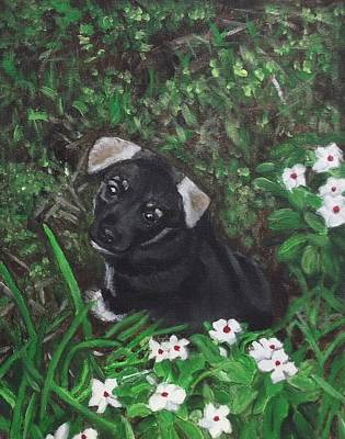 Painting - Puppy Love by Kim Selig