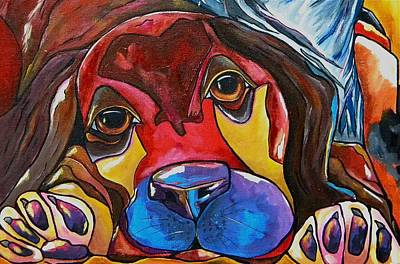 Puppy Love Art Print by Patti Schermerhorn