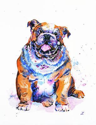 Painting - Puppy by Zaira Dzhaubaeva