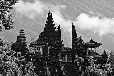 Photograph - Pura Besakih Temple, Bali by Craig Lovell