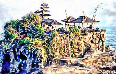 Photograph - Pura Tanah Lot Bali by Dorothy Berry-Lound
