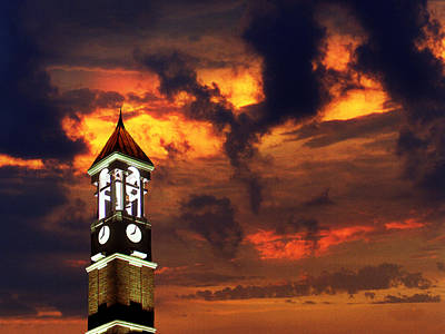 Purdue Bell Tower Art Print by Purdue University