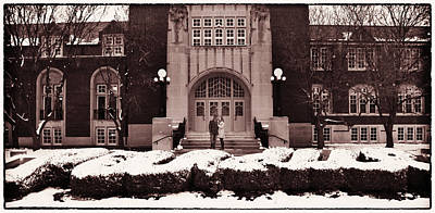 Photograph - Purdue Engagement by Coby Cooper