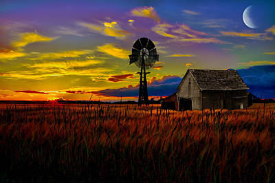Pure Country Art Print by Gary Smith