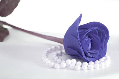 Pearls Photograph - Pure Elegance by The Art Of Marilyn Ridoutt-Greene
