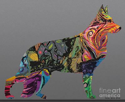 Digital Art - Pure Emotion Gsd by Ania M Milo