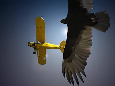 Pure Flight Art Print
