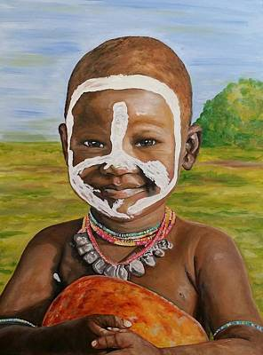 Painting - Pure Happiness by Jeleata Nicole
