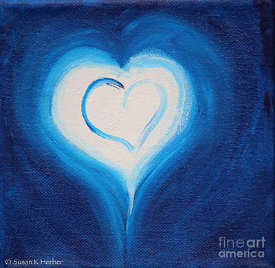 Painting - Pure Hearts by Susan Herber