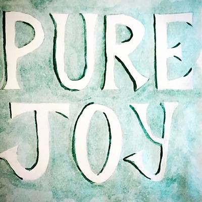 Sketch Photograph - Pure Joy by Nancy Ingersoll