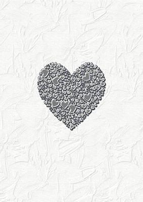 Pure Love Art Print by Linda Prewer