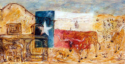 Mixed Media - Pure Texas by Banning Lary