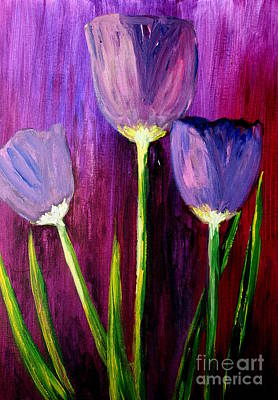 Painting - Purely Purple  by Julie Lueders