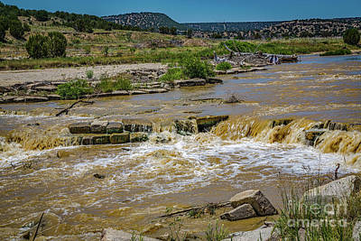 Photograph - Purgatoire River by Jon Burch Photography