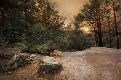Photograph - Purgatory Chasm by Robin-Lee Vieira
