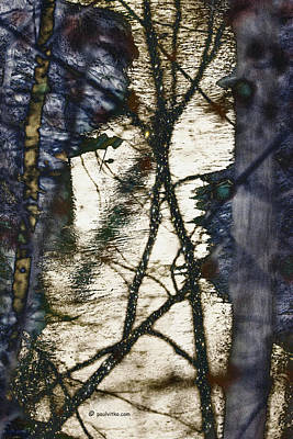Photograph - Purgatory Creek Multi-dimensional Shifting.... by Paul Vitko