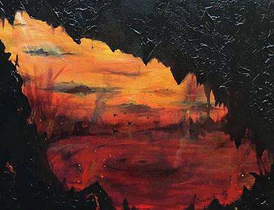 Purgatory Painting - Purgatory  by Ivan Florentino Ramirez