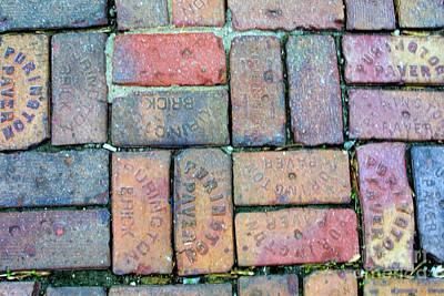 Purington Paving Bricks Original by Linda Phelps