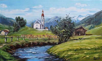Quietness Painting - Purity by Anton Popov