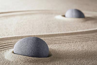 Photograph - Purity Zen Meditation Garden by Dirk Ercken