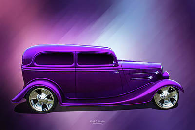 Photograph - Purple 34 by Keith Hawley