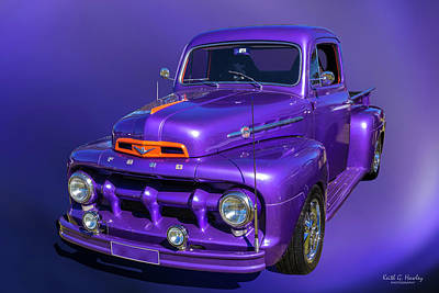 Photograph - Purple 51 by Keith Hawley