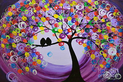 Purple 5518 Art Print