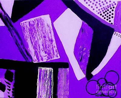 Painting - Purple Abstract by Marsha Heiken