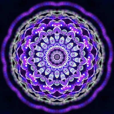 Digital Art - Purple Ahau 3284720 by Robert Thalmeier