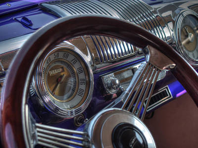 Photograph - Purple And Chrome by Michael Colgate